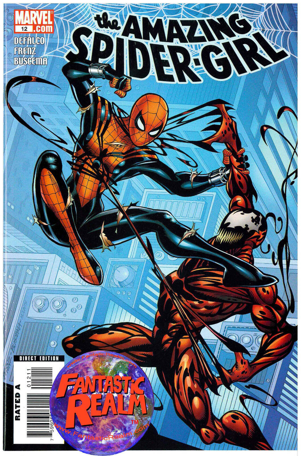 AMAZING SPIDER-GIRL #12 CARNAGE COVER, 13 & 13 ZOMBIE VARIANT MARVEL COMICS