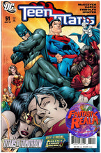 Load image into Gallery viewer, TEEN TITANS # 51, 52, 53 & 54  JUSTICE LEAGUE DC COMICS
