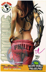 WITCHBLADE #98 RARE PHILLY-CON EXCLUSIVE SEXY-BOOTY VARIANT - 1:500 - SIGNED