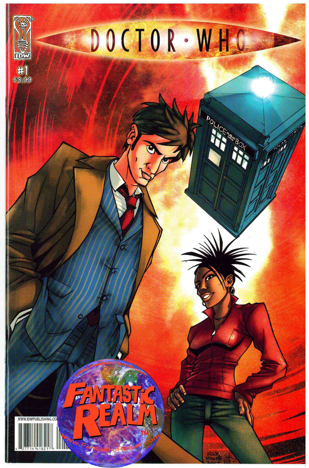 DOCTOR WHO #1, 2, 3 & 4 IDW COMICS