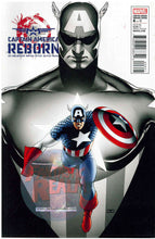 Load image into Gallery viewer, Captain America: Reborn  6 of 6 Cassaday & Guice variant Covers