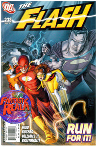 THE FLASH #233 (2007) MARK WAID JUSTICE LEAGUE OF AMERICA APPEARANCE DC COMICS