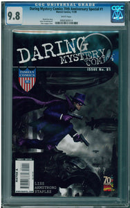DARING MYSTERY COMICS 70TH ANNIVERSARY SPECIAL #1 (2009) CGC 9.8