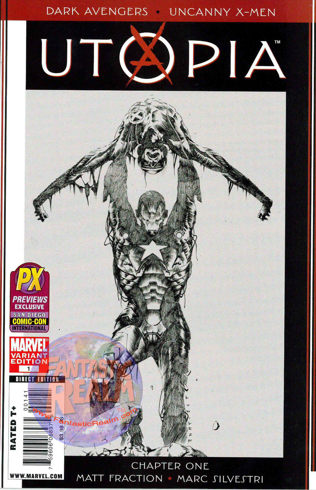 DARK AVENGERS UNCANNY X-MEN UTOPIA #1 LEE VARIANT SAN DIEGO COMIC-CON EXCLUSIVE