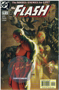 THE FLASH #210 MICHAEL TURNER REVERSE FLASH COVER DC COMICS