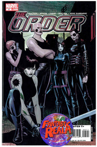 THE ORDER #3, 4 & 5 MARVEL COMICS