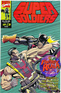 SUPER SOLDIERS #1, 2, 3, 4, 5 FIRST PRINTING (1993) MARVEL COMICS