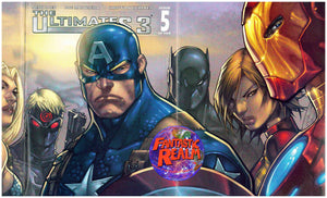 THE ULTIMATES 3 #5 VARIANT & STANDARD COVERS (CAPTAIN AMERICA)