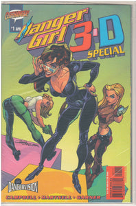 DANGER GIRL 3-D SPECIAL #1 APRIL 2003 SEALED W/ 3-D GLASSES COMIC