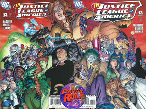 JUSTICE LEAGUE OF AMERICA #13 RIGHT & LEFT DC COMICS