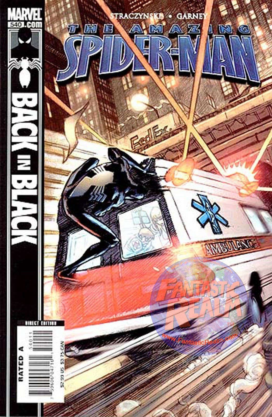 THE AMAZING SPIDER-MAN #540 BACK IN BLACK (2007) MARVEL COMICS