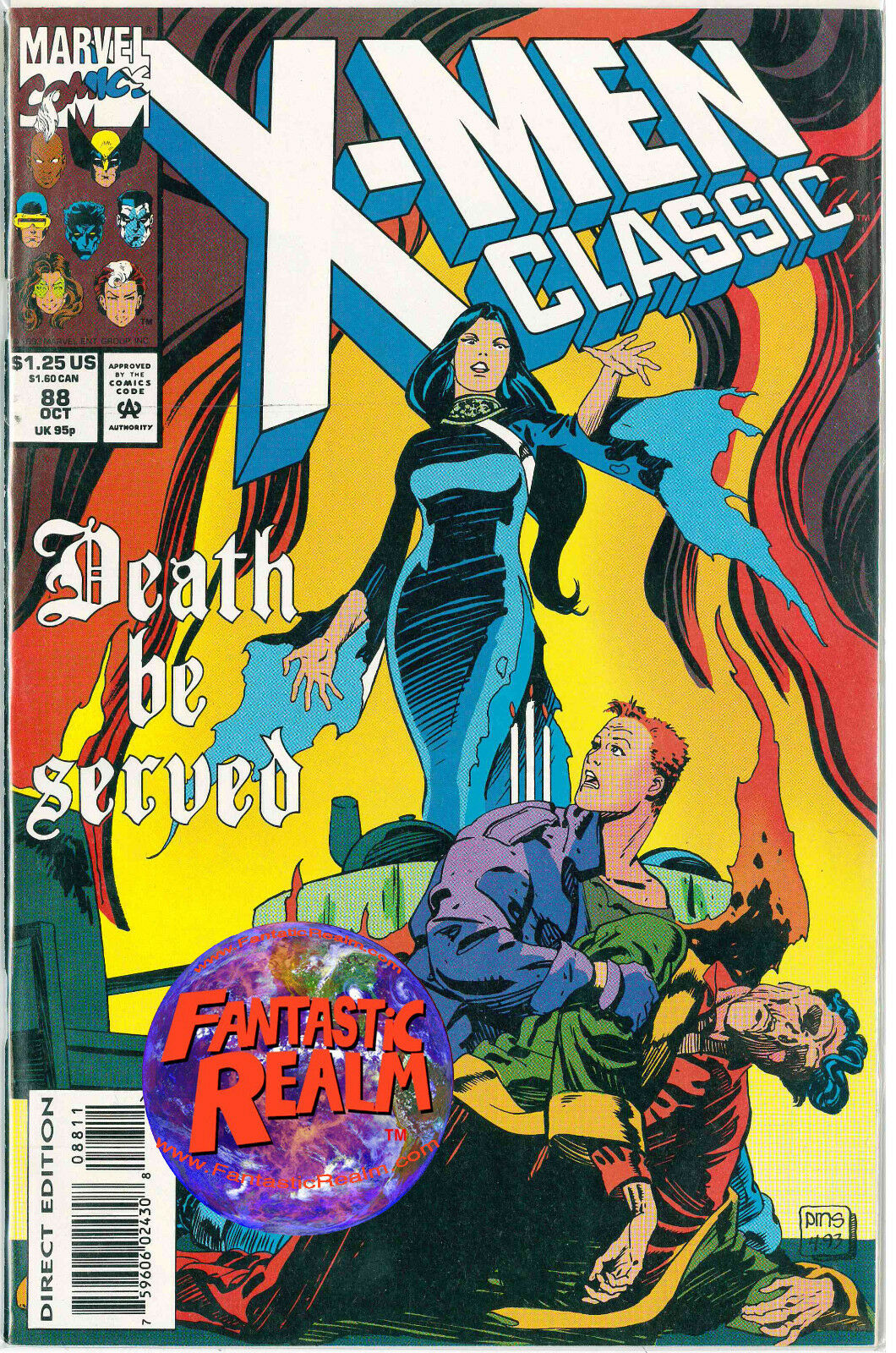 X-MEN CLASSIC #88 (OCT 1993) MARVEL COMICS