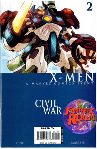 X-MEN CIVIL WAR #1, 2, 3, 4 FULL SET MARVEL COMICS