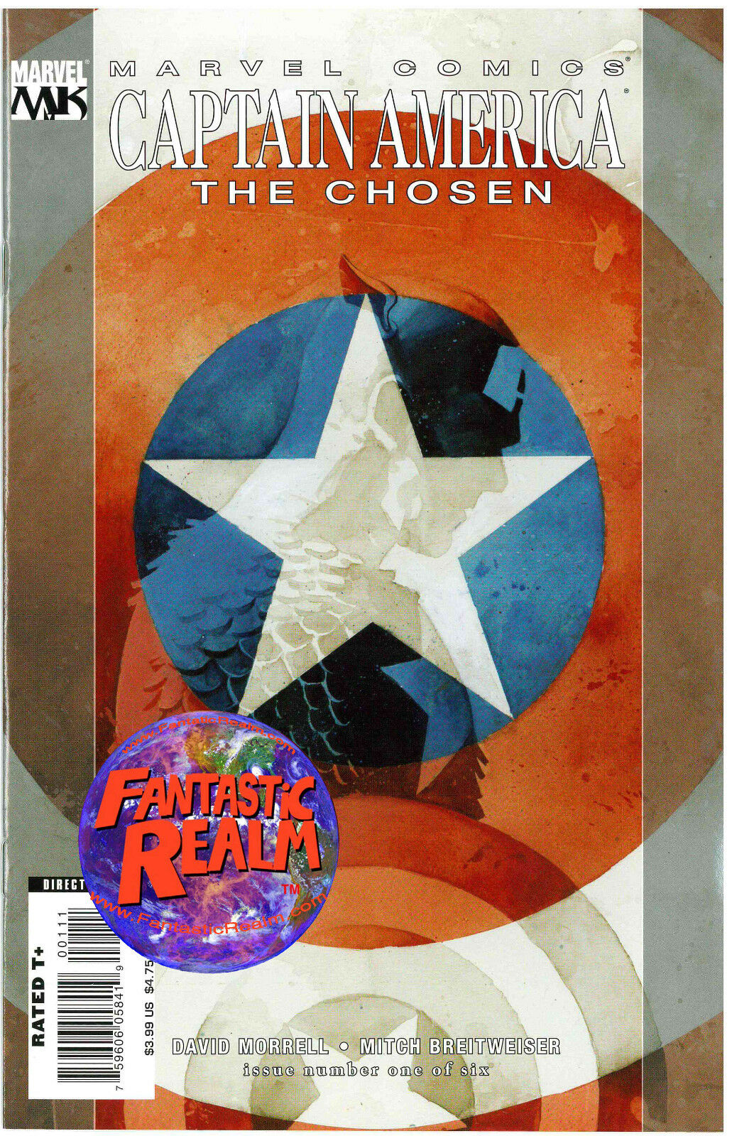 CAPTAIN AMERICA #1: THE CHOSEN MARVEL COMICS