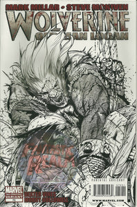 WOLVERINE OLD MAN LOGAN #70 SKETCH VARIANT 3RD PRINT MARVEL