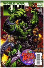 Load image into Gallery viewer, WORLD WAR HULK #1, 2, 3, 4 & 5A (FULL SET) (2007) MARVEL COMICS