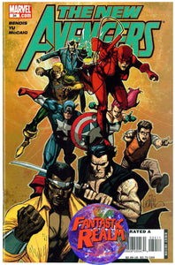 THE NEW AVENGERS #34 BRIAN MICHAEL BENDIS MARVEL COMICS