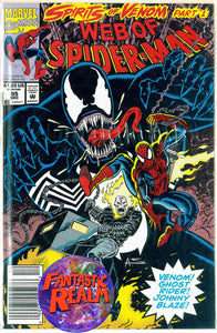 WEB OF SPIDER-MAN  # 95 & 96 (1992) MARVEL COMICS