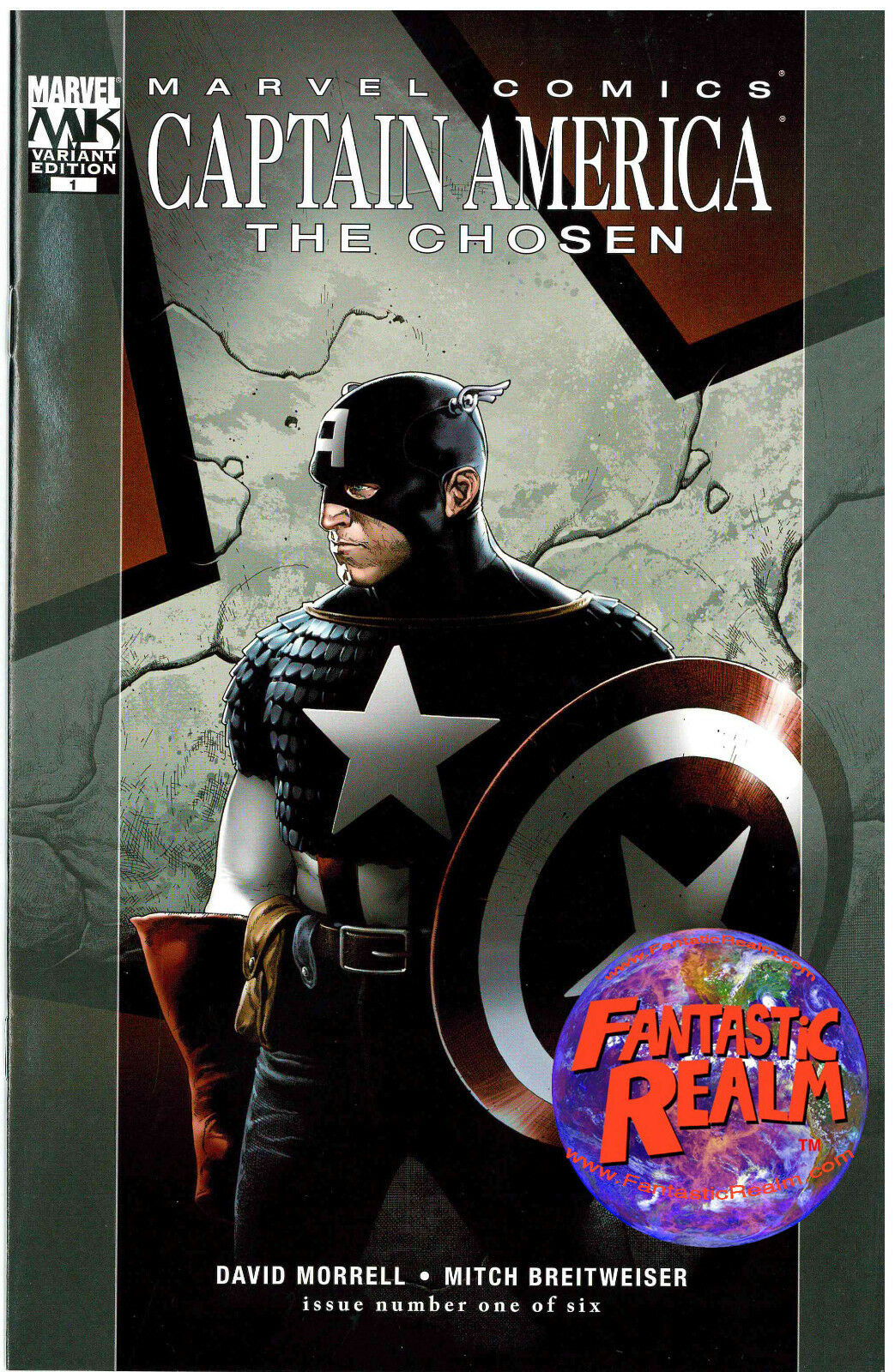 CAPTAIN AMERICA: THE CHOSEN #1 VARIANT EDITION (2007) MARVEL COMICS