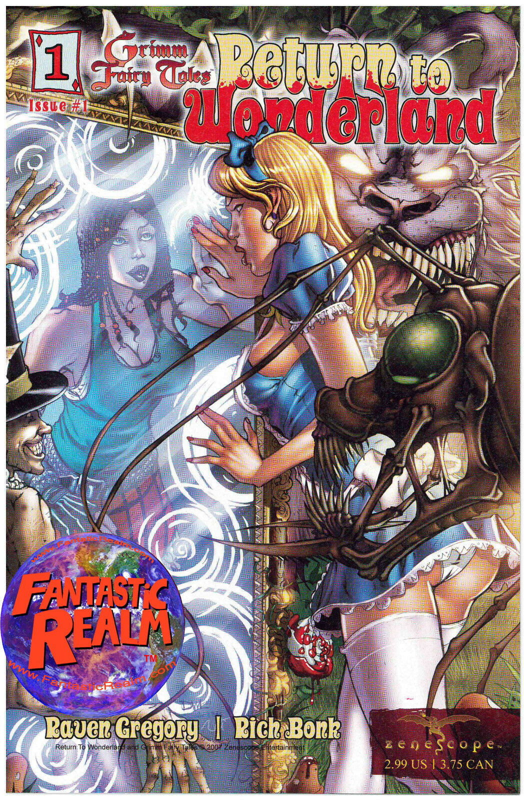 GRIMM FAIRY TALES: RETURN TO WONDERLAND #1 LEISTER NEI ZENESCOPE COMICS