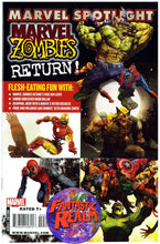 Load image into Gallery viewer, MARVEL ZOMBIES RETURN 1, 2, 3, 4, 5 & SPOTLIGHT COMPLETE SET MARVEL COMICS