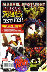 MARVEL ZOMBIES RETURN 1, 2, 3, 4, 5 & SPOTLIGHT COMPLETE SET MARVEL COMICS