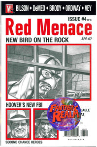 RED MENACE #1, 1 VARIANT, 2, 2 VARIANT, 3, 4, 5 WILDSTORM COMIC BOOK