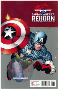 Captain America: Reborn  6 of 6 Cassaday & Guice variant Covers