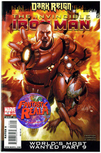 DARK REIGN INVINCIBLE IRON MAN #9, 16, 17 & 19 (2009) MARVEL COMICS