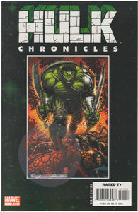 HULK CHRONICLES #1: WORLD WAR HULK (2008) MARVEL COMICS
