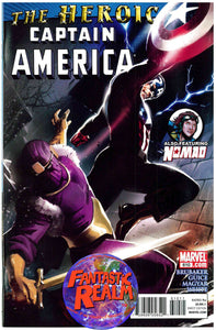 CAPTAIN AMERICA #610 THE HEROIC NOMAD MARVEL COMICS