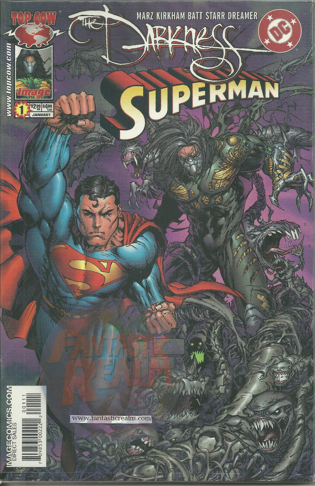 The Darkness Superman #1 DC COMICS