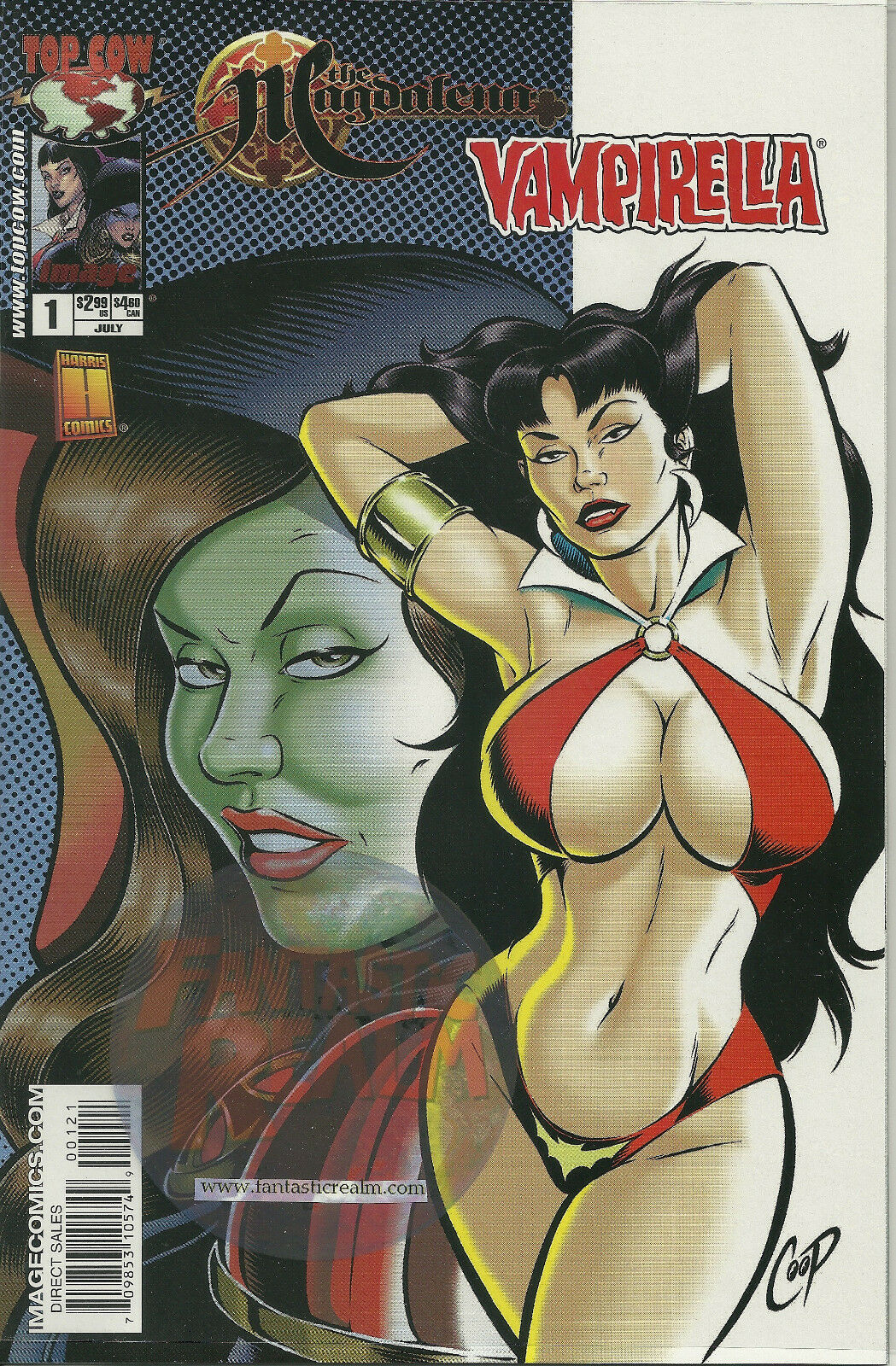 The Magdalena + Vampirella #1 Image Comic Book