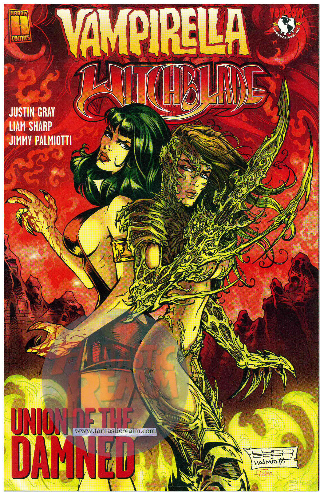 Vampirella Witchblade #1A: Union of the Damned (2004)