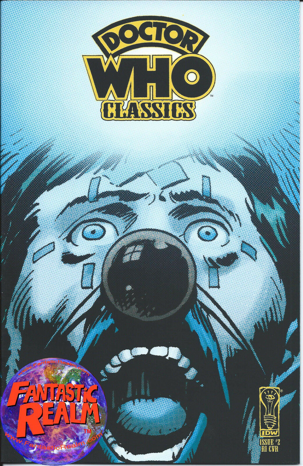 DOCTOR WHO CLASSICS #2 (IDW) 1:10 RETAILER INCENTIVE VARIANT COMIC
