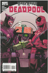 DARK REIGN: DEADPOOL #12 MARVEL (2008) COMICS