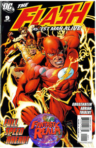 FLASH: THE FASTEST MAN ALIVE #7, 8, 9 & 10 DC COMICS