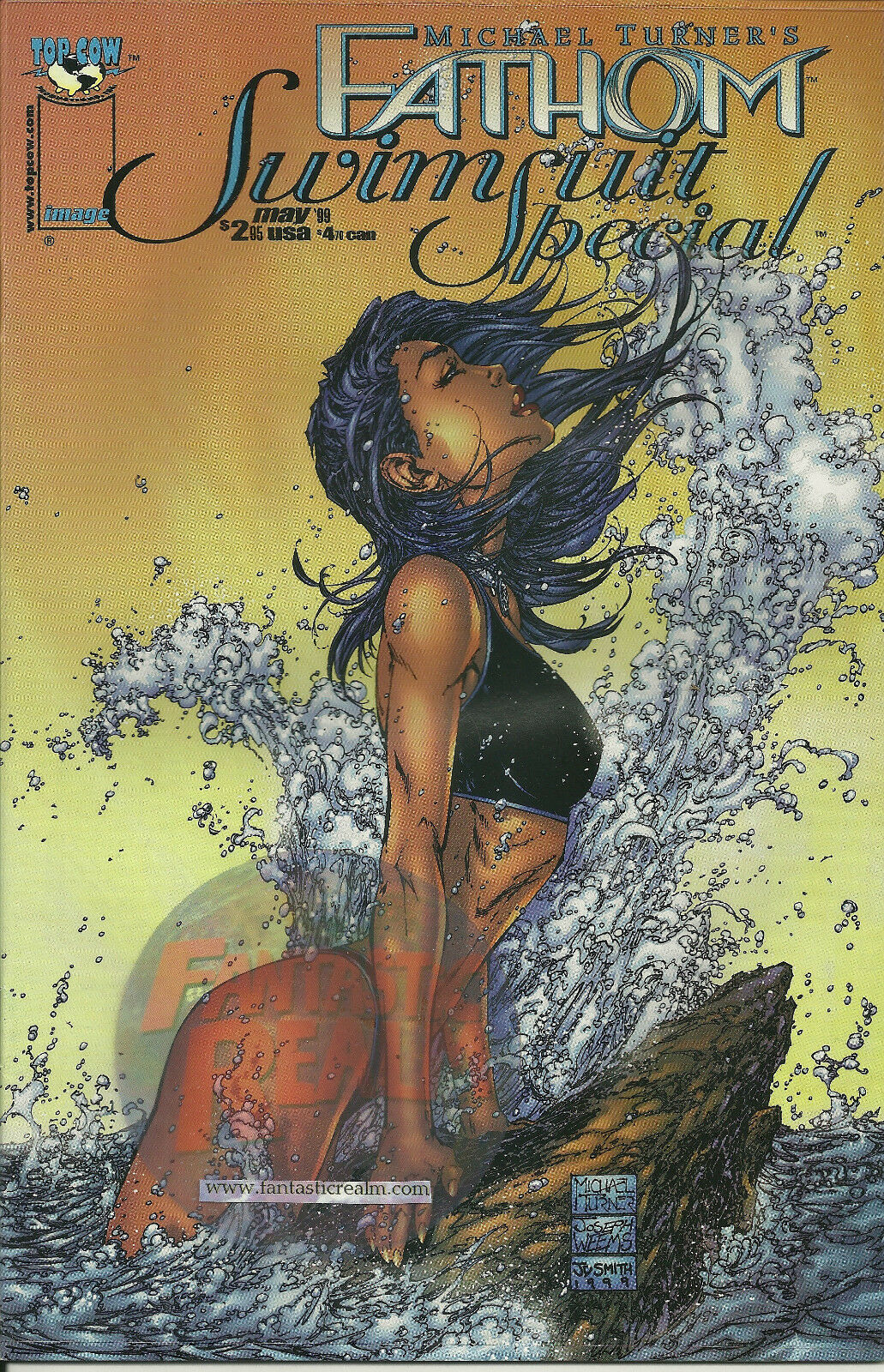 MICHAEL TURNER'S FATHOM SWIMSUIT SPECIAL (1999) IMAGE COMICS