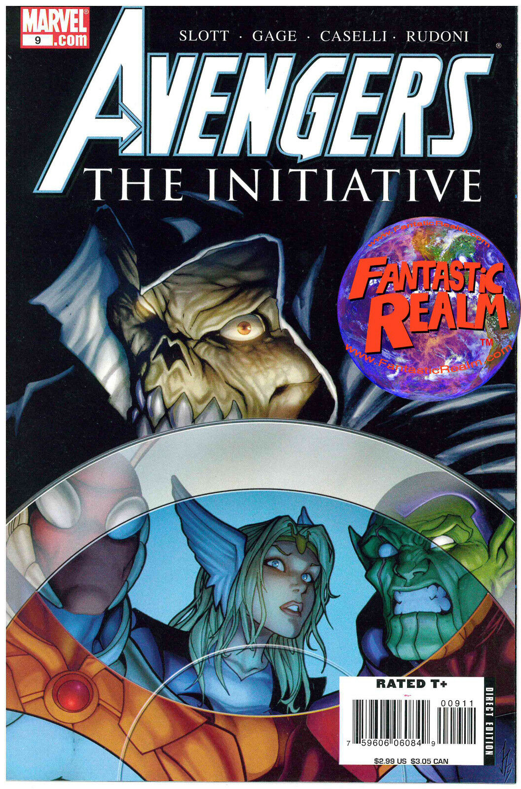 AVENGERS #9: THE INITIATIVE MARVEL COMICS