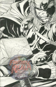 SIEGE #3 EXCLUSIVE THOR 1:300 SKETCH  VARIANT EDITION