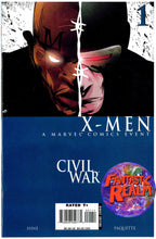 Load image into Gallery viewer, X-MEN CIVIL WAR #1, 2, 3, 4 FULL SET MARVEL COMICS