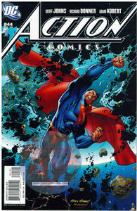 ACTION COMICS #844 KUBERT SUPERMAN VARIANT 1ST PRINT RICHARD DONNER DC COMICS