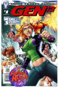 GEN 13 #1, 2, 3, 4 & 7 GAIL SIMONE TALENT CALDWELL DC WILDSTORM COMICS