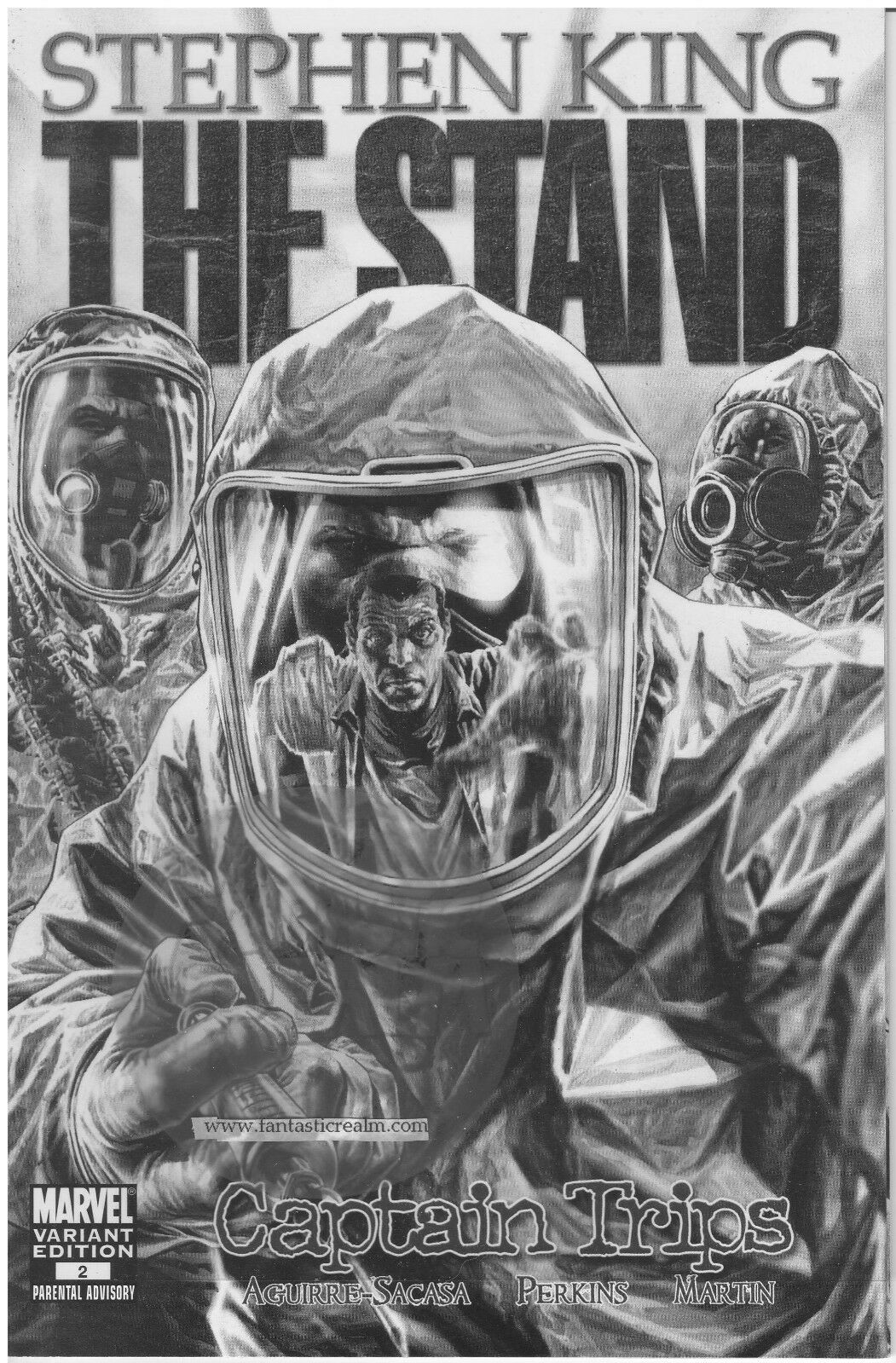 The Stand Captain Trips #2 (2008) Lee Bermejo Variant Marvel