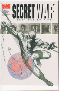 Secret War #1C PSR Spiderman sketch