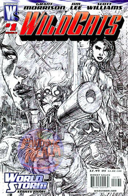 WILDCATS #1 JIM LEE SKETCH VARIANT 1:50 (2006) WILDSTORM