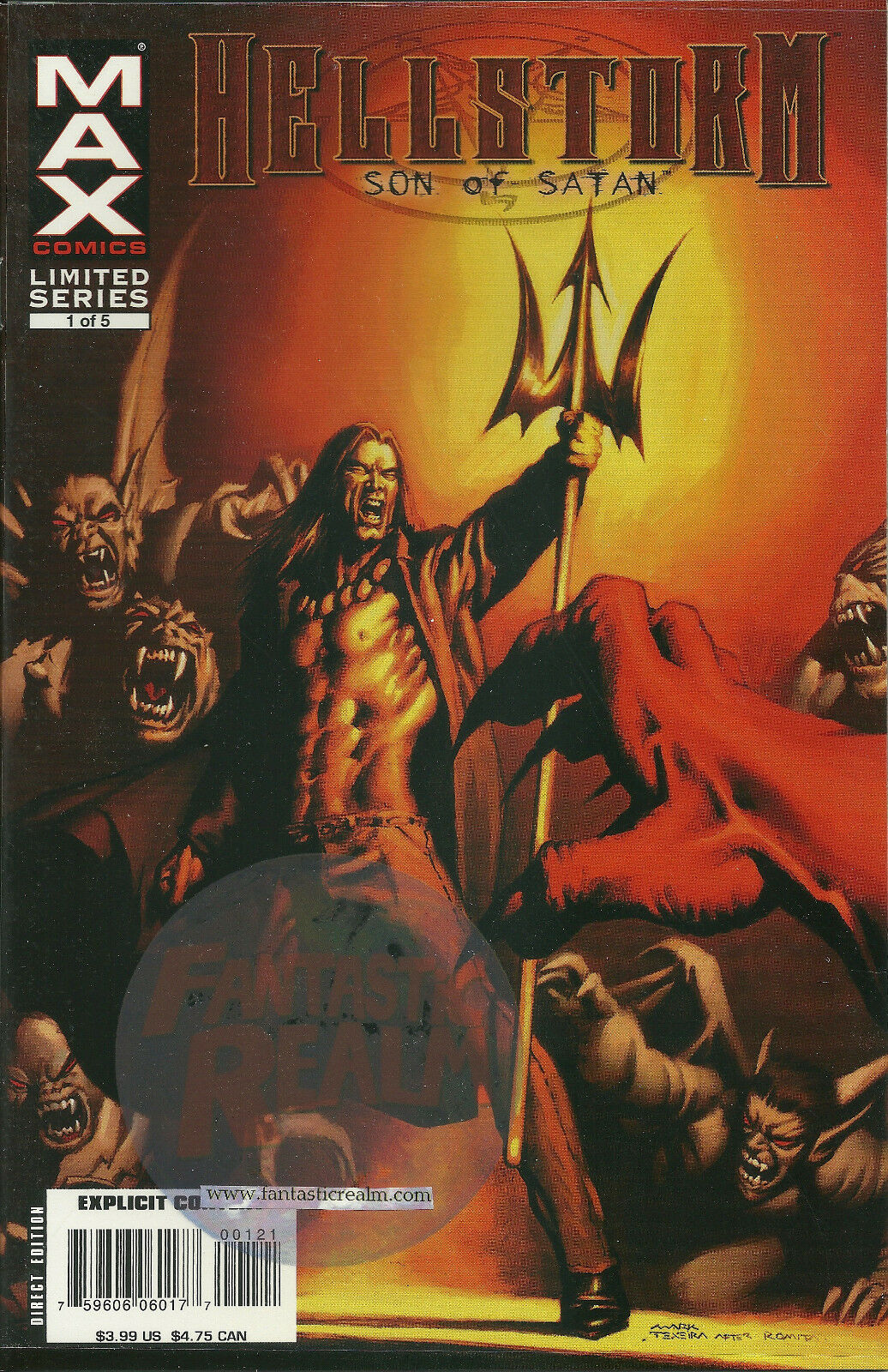 Hellstorm Son of Satan #1B  (2006)