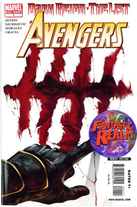 DARK REIGN: THE LIST THE AVENGERS #1 ONE SHOT BENDIS COVER MARVEL COMICS