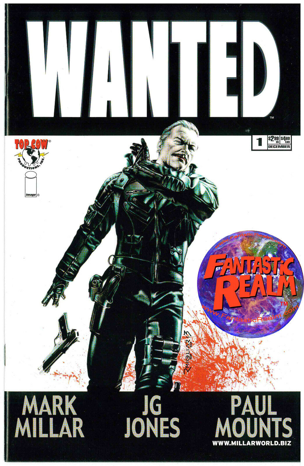WANTED #1C MIGLIAR TOP COW IMAGE COMICS MARK MILLAR