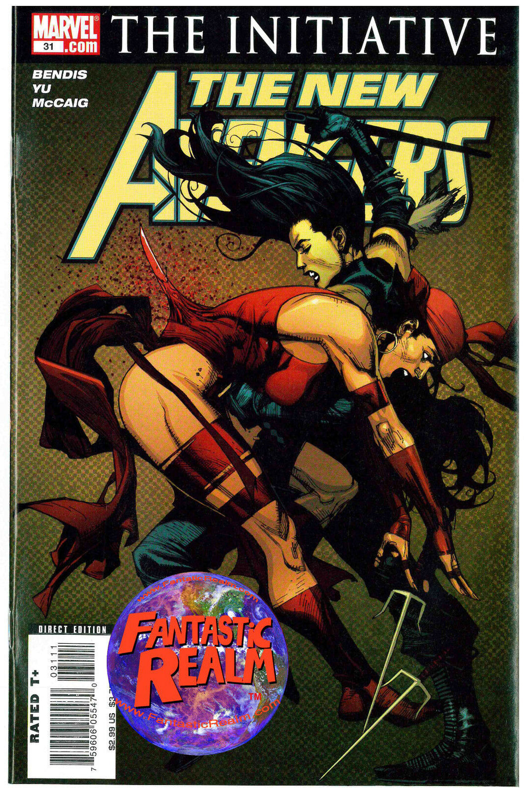 THE NEW AVENGERS (THE INITIATIVE) #35 BENDIS MARVEL COMICS